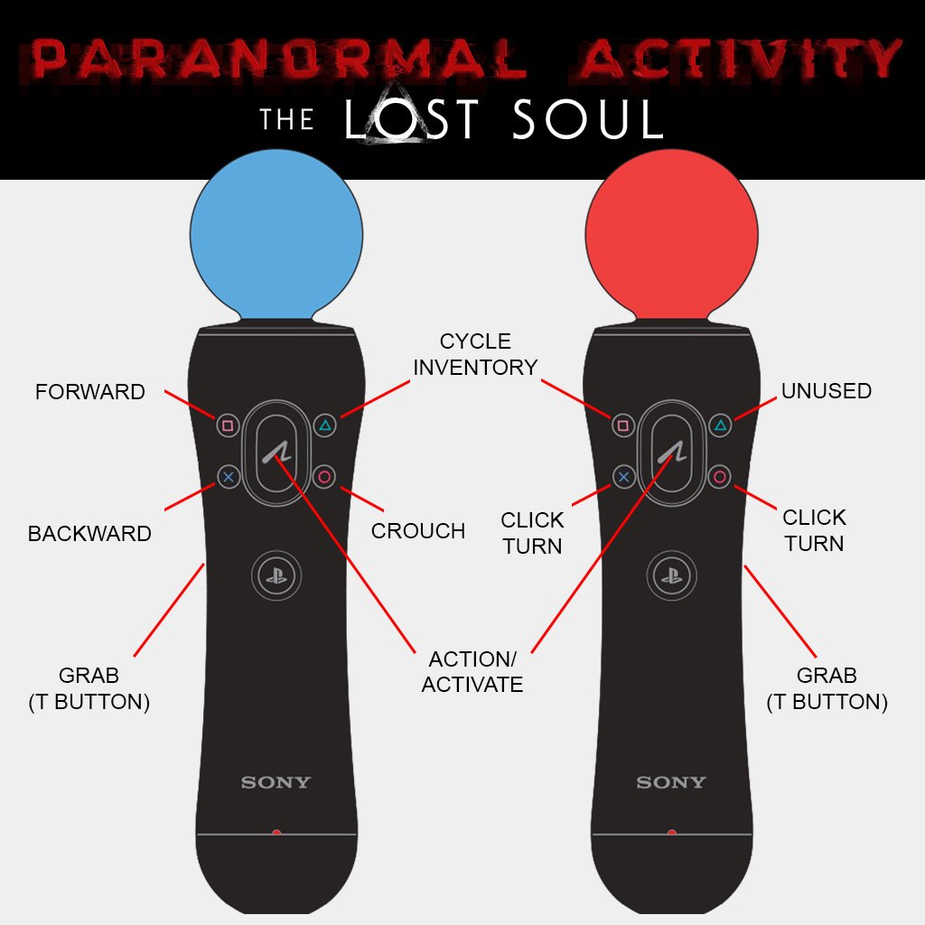 Paranormal Activity Move PSVR